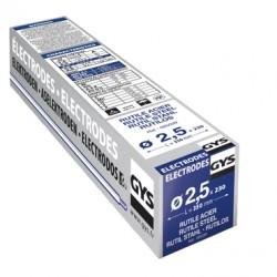 230 Électrodes rutiles E6013 Ø 2,5