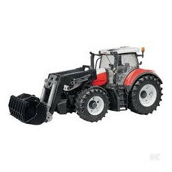 STEYR 6300 TERRUS + CHARGEUR FRONTAL