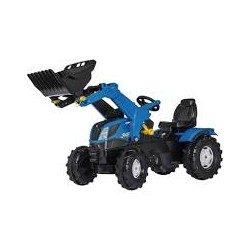 New Holland T7 + chargeur fr.
