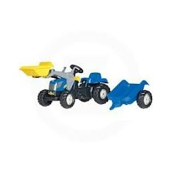 New Holland TVT190 avec chargeur frontal