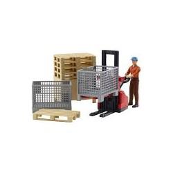Kit de figurines de logistique