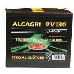 PILES ALCAGRI 9V/130aH