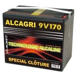 PILES ALCAGRI 9V/170aH