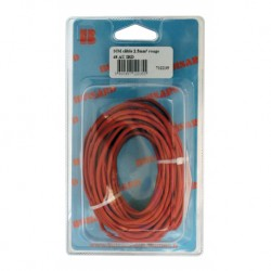 CABLE ROUGE 2.5MM 10M